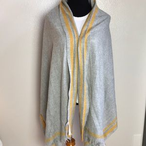 Primark beautiful grey and yellow wrap